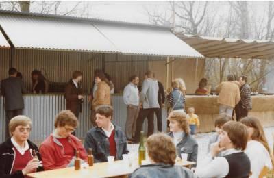 Obiskovalci Praznika pomladi leta 1983 (10. marec).