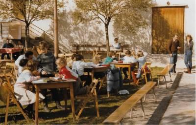 Praznik pomladi 1986. Ex tempore za otroke.