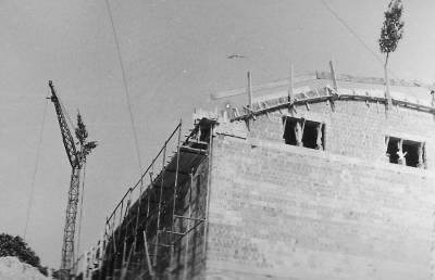Maj 1968. Dvorana v polni gradnji