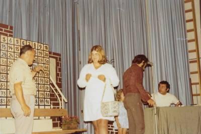 Avgust 1972. Tombola v okviru društva Hrast.