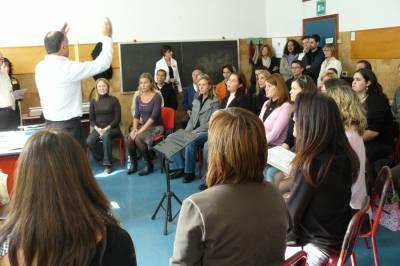 Priprave na regijsko tekmovanje v Travesiu, oktober 2007