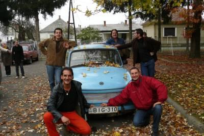 Sombotelj, Madžarska. Oktober 2008.