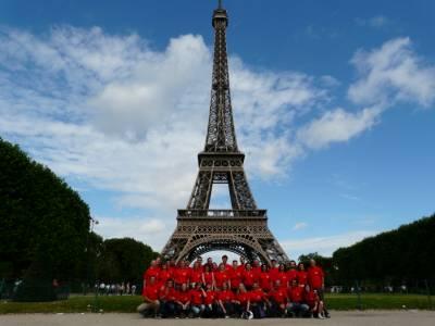Pariz, Eifflov stolp. Julij 2008