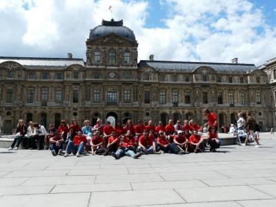 Pariz, Louvre. Julij 2008