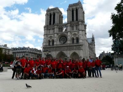 Pariz, Notre Dame. Julij 2008.