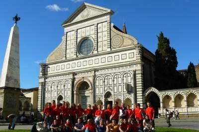 Bazilika Santa Maria Novella, Firence. September 2010.