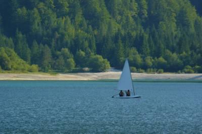 Na Rajbeljskem jezeru, 2013