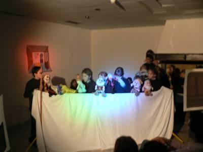 Miklavževanje 2005 - lutrkovna predstava na Gradini