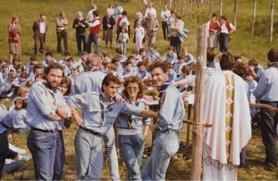 Doberdobski skavti. 1987.